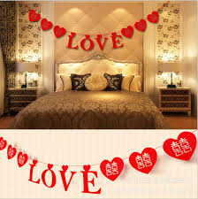anniversary decorations large heart type wedding party derorations wedding supplies