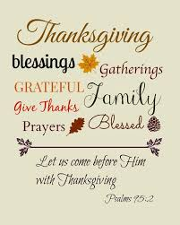 bible thanksgiving blessings festival collections