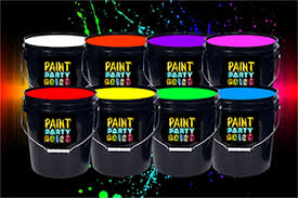 neon party supplies 5 gallon washable neon paint br 79 00 jena consulting llc dba