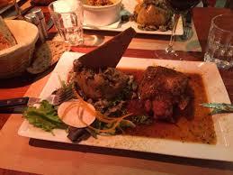 la cuisine des tontons jarret de porc au thym photo de la cuisine des tontons grenoble