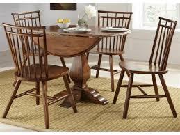 round drop leaf table set creations ii 5 piece round drop leaf table set francis furniture