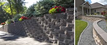 Recon Walls by Walls Rochester Concrete Products