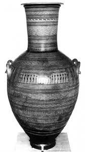 Greek Vase Design A New Greek Vase Of C 700 B C Ngv