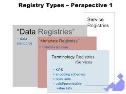 data registries metadata and terminology registries