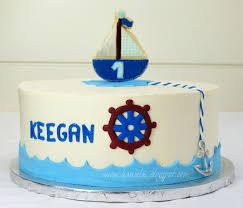 nautical cake haniela s nautical 1st birthday cake