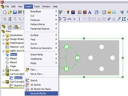 the greatest solidworks tips for derived sketches solidsmack