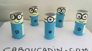 Que Faire Avec Des Rouleaux De Papier Toilette Minions Avec Rouleau En Carton Youtube