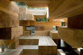 unique architectures and new design wooden house by sou fujimoto