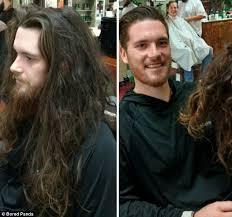 haircut for long torso bored panda shares photos of men after cutting long hair daily