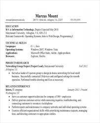 It Graduate Resume Sample 21 It Resume Templates Free U0026 Premium Templates