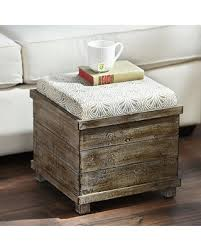 Taupe Ottoman Big Deal On Taupe Reversible Tabletop Storage Ottoman