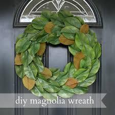tips magnolia wreath year round wreaths for front door