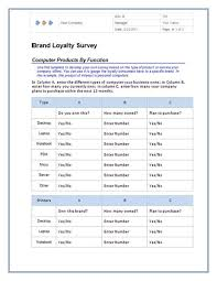 survey template word madinbelgrade