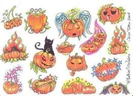 pumpkin tattoo images u0026 designs