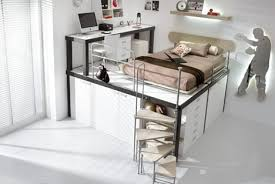Space Saving Bedroom Furniture Ideas Lofted Space Saving Furniture For Bedroom Interiors Space Saver