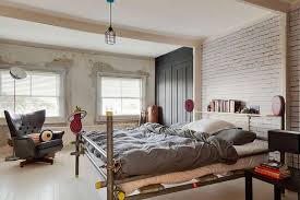 Loft Style Bed Frame Colourful Villa спальни Pinterest Villas