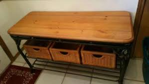 Entryway Table With Baskets Entryway Table With Baskets Kcf2zmnmvb1wqxou9ukd Images Home