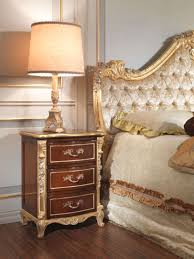 Silver Leaf Bedroom Furniture by Classic Italian Bedroom 18th Century Carved Bed Vimercati