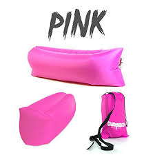 Air Filled Sofa by Dumbo Lounge Sack Pink Inflatable Lounger Air Filled Sofa