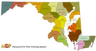 maryland map by county outline maps maryland county map