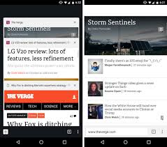 Chrome Flags Android Chrome For Android Might Get A Great Design Change For One Handed