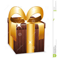 wrapped gift boxes beautiful brown wrapped gift box stock illustration image 34570822