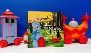 night garden aboard ninky nonk book
