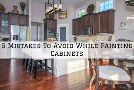 is it a mistake to paint kitchen cabinets 5 mistakes to avoid while painting cabinets in beaverton or