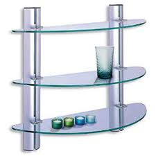 Glass Bathroom Storage 38 Best Glass Shelves Images On Pinterest Glass Shelves