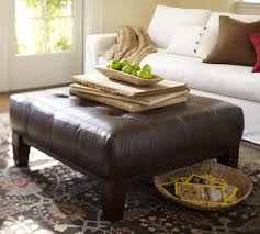 Leather Square Ottoman Coffee Table Beautiful Square Leather Ottoman Sullivan Leather Square Ottoman