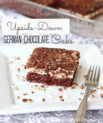 gooey upside down german chocolate cake recipe extras