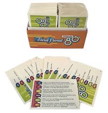 trivial pursuit totally 80s trivial pursuit totally 80s cards only replacement cards 1 box