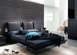contemporary bedroom furniture solid headboard connected table