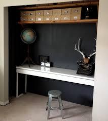 half closet half desk the little road said go my closet office