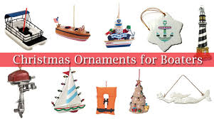 boating and nautical tree ornaments my boat