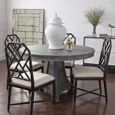 blair center dining table bungalow blair center dining table gray bungalow 5