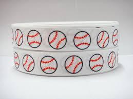 baseball ribbon online buy wholesale grosgrain ribbon colored baseball from china