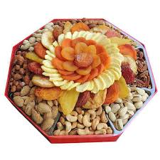 dried fruit gift fruit nut gift basket towers costco