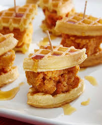 Walmart Furniture Moving Sliders by Chicken U0026amp Waffle Sliders Recipe Walmart Com