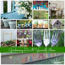 diy garden ideas decorating clear