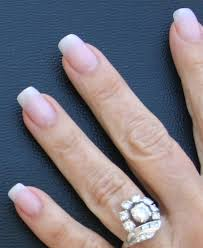 natural looking squoval artificial nails acrylic nails that look
