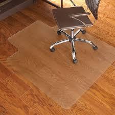 incredible rectangle brown wooden desk chair floor mats dark