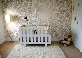 bold metallic nursery wallpaper pictures photos and images for