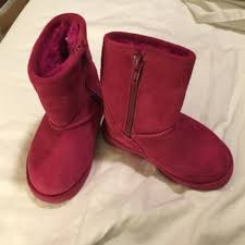 s boots nordstrom rack 80 nordstrom other nordstrom rack pink suede boots w fur