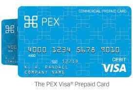 prepaid business debit card church business expense card pex