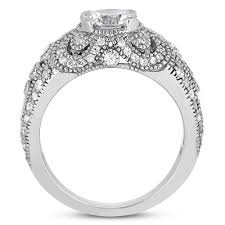 engagement rings vintage style 0 89 carat vintage style engagement ring