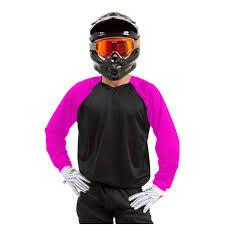 kawasaki motocross jersey canvas mx jersey black with pink sleeves rival ink design co