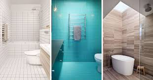 Bathroom Tile Modern Bathroom Tile Idea Use The Same Tile On The Floors And The Walls