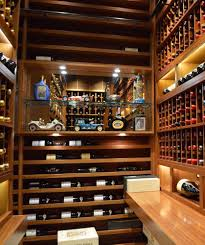 how a master builder doubled the size of a custom wine cellar in custom wine rack display los angeles installation project