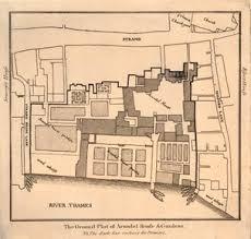 British Museum Floor Plan British Museum The Ground Plot Of Arundel House U0026 Gardens